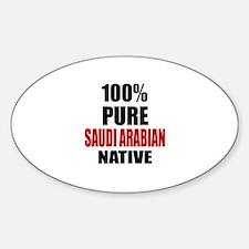 100 % Pure Saudi or Saudi Arabian N Decal