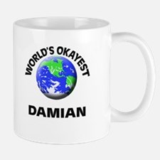 World's Okayest Damian Mugs