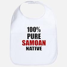 100 % Pure Samoan Native Bib