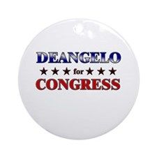 DEANGELO for congress Ornament (Round)