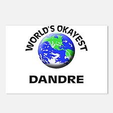 World's Okayest Dandre Postcards (Package of 8)