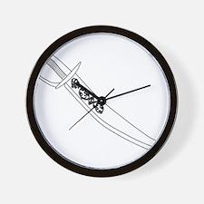 Cutlass In Outline Wall Clock