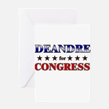 DEANDRE for congress Greeting Card