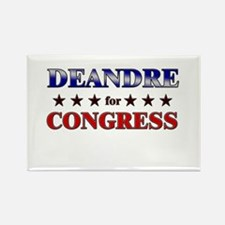 DEANDRE for congress Rectangle Magnet
