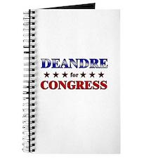 DEANDRE for congress Journal