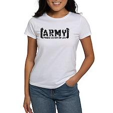 Proud Army Sis-n-Law - Tatterd Style Tee