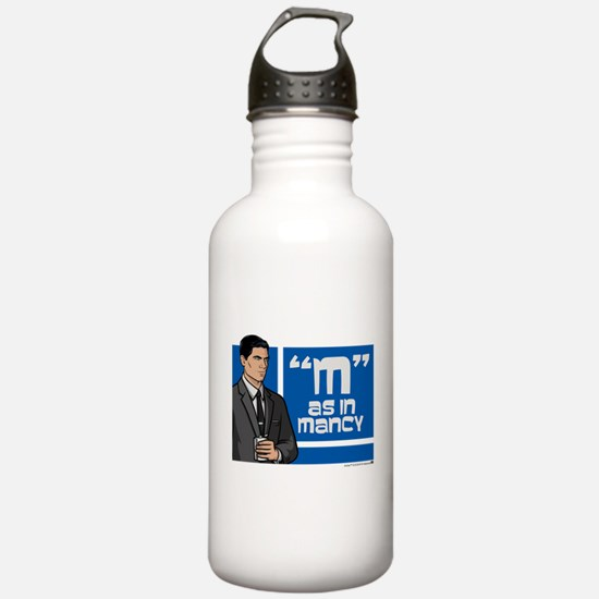 Archer Mancy Water Bottle