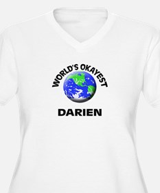 World's Okayest Darien Plus Size T-Shirt