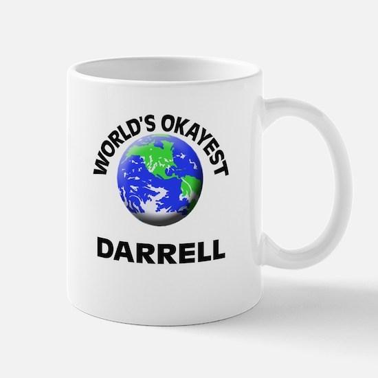 World's Okayest Darrell Mugs