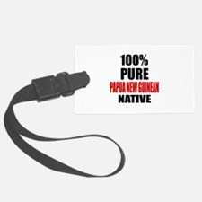 100 % Pure Papua New Guinean Nat Luggage Tag