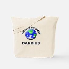 World's Okayest Darrius Tote Bag
