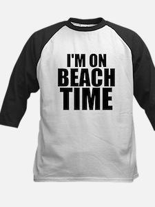 I'm On Beach Time Baseball Jersey