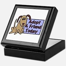 Adopt a Friend Today Doggie Keepsake Box
