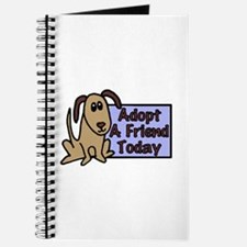 Adopt a Friend Today Doggie Journal