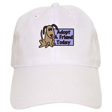 Adopt a Friend Today Doggie Baseball Cap