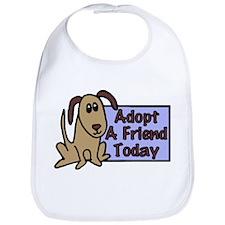 Adopt a Friend Today Doggie Bib
