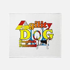 Foxhound Agility Throw Blanket