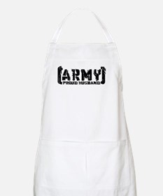 Proud Army Hsbnd - Tatterd Style BBQ Apron