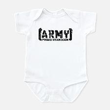 Proud Army Grndsn - Tatterd Style Infant Bodysuit