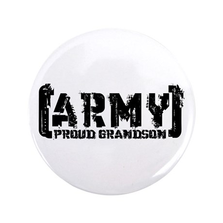 "Proud Army Grndsn - Tatterd Style 3.5"" Button"