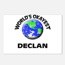 World's Okayest Declan Postcards (Package of 8)