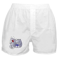 Crying Hippo Boxer Shorts