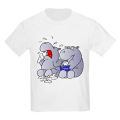 Crying Hippo T-Shirt