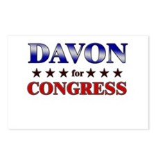 DAVON for congress Postcards (Package of 8)