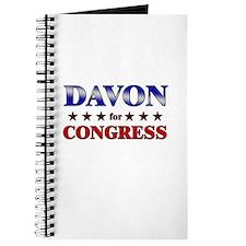 DAVON for congress Journal