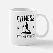 Fitness With No Witness Treadmill Mugs