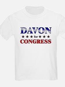 DAVON for congress T-Shirt