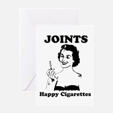 Joints Greeting Card