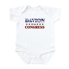 DAVION for congress Infant Bodysuit
