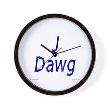 J Dawg Wall Clock