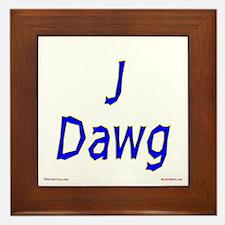 J Dawg Framed Tile