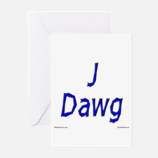 J Dawg Greeting Cards (Pk of 10)
