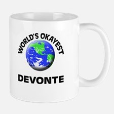 World's Okayest Devonte Mugs