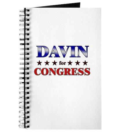 DAVIN for congress Journal