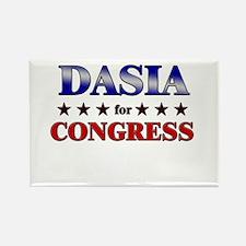 DASIA for congress Rectangle Magnet