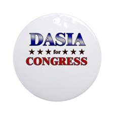 DASIA for congress Ornament (Round)