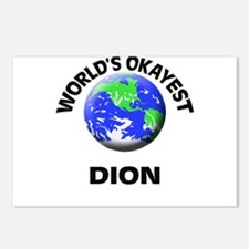 World's Okayest Dion Postcards (Package of 8)