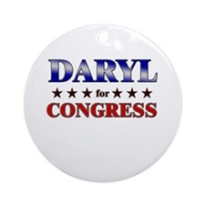 DARYL for congress Ornament (Round)