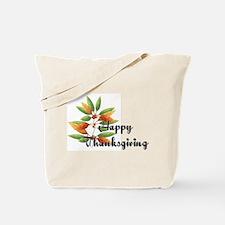 Fall Leaves - Happy Thanksgiv Tote Bag