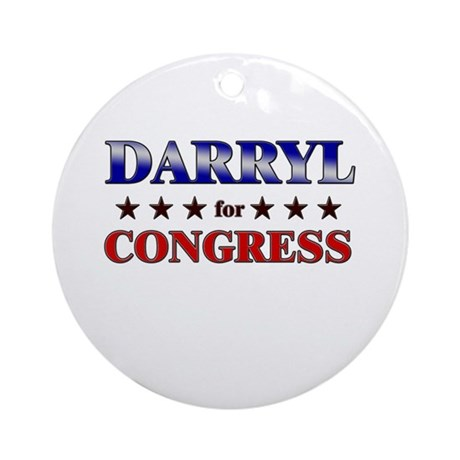 DARRYL for congress Ornament (Round)