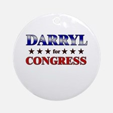DARRYL for congress Ornament (Round)