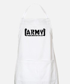 Proud Army Bro-n-Law - Tatterd Style BBQ Apron