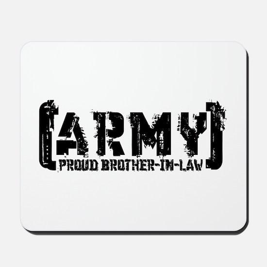 Proud Army Bro-n-Law - Tatterd Style Mousepad