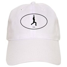 Yoga (euro-white) Baseball Cap