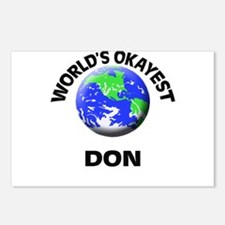 World's Okayest Don Postcards (Package of 8)