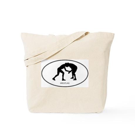 Wrestling (euro-white) Tote Bag